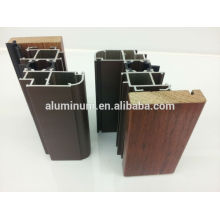 Door and window wood aluminium profiles