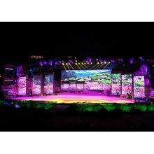 Lager stroomverbruik Full Color Rental LED-display