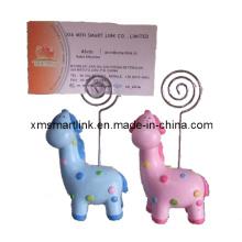 Zebra-Clip-Kartenhalter, Memo-Clip für Souvenir-Geschenk