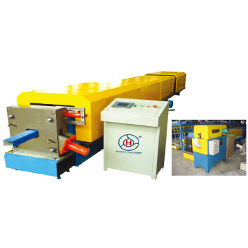Fully Automatic 200*200 Galvanized Steel Thickness 0.8-2mm Rainspout Cold Roll Forming Machine