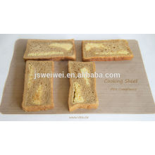with FDA certificate non stick heat resistance fiberglass oven liner