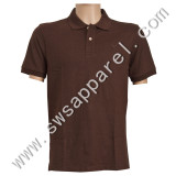 Men's Cotton/Polyester Pique Golf Polo Shirt