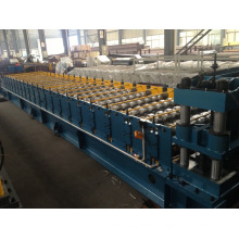 corrugated iron roof making machine /double layer roll forming machine /roof tile making machine