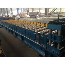 telhado de ferro corrugado fazendo máquina/dupla camada rolo formando máquina /roof telha que faz a máquina