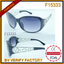 Unsex individualidade Frame óculos de sol com amostra grátis (F15333)