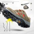 Botas de seguridad Zapatos ligeros para hombres