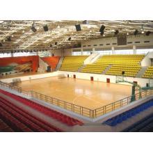 Indoor PVC Sports Floor / Basketball Floor / Mat Fiba Certificate Surface en bois