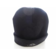 Maßgeschneiderte schwarze gestrickte Winter-im Freiensport-Slouchy lange Stulpe-Beanie-Kappe