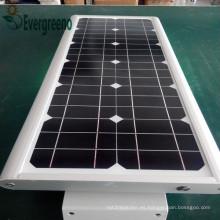 El mejor fabricante lámpara de calle solar todo en uno LED