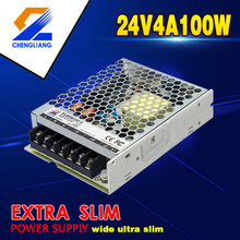 24V 4.2A 100W Slim Transformer Untuk Strip LED