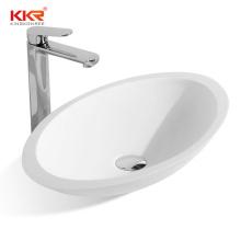 Matt artificial stone washbasin bathroom stone solid face bowl basin