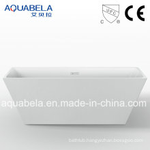 European Popular Item Narrow Flange Freestanding Hot Tub (JL630)