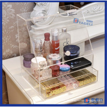 Modern Clear Home Storage Acrílico Makeup Organizer