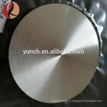 Cible de pulvérisation en alliage d'aluminium titane