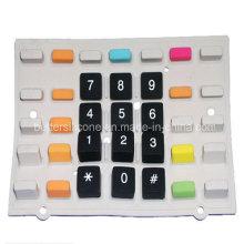 Двухцветная клавиатура с силиконовой резиной