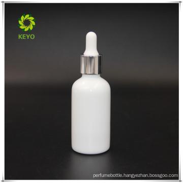 wholesale 30ml OPLA empty essential oil white glass dropper bottle glass cosmetics jar bottle