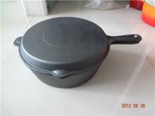 Besi Tuang dua kegunaan memasak