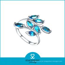 2015 moda 925 anel de jóias de prata com preço de fábrica (R-0496)