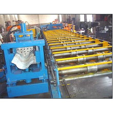QJ ridge cap color steel roll forming machine