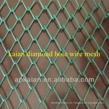 Anping KAIAN 1 '' Valla galvanizada revestida PVC del acoplamiento de cadena (fábrica de 30 años)