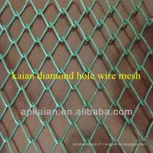 Anping KAIAN 1 '' Clôture de liaison en chaîne galvanisée en PVC (30 ans d'usine)