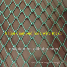 anping KAIAN 1'' PVC coated galvanized chain link fence(30 years factory)