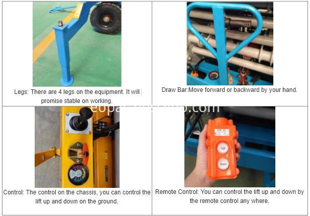 Heavy Duty Scissor Lift Lifting Platform