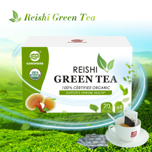 Tea Green Herbal Matcha Organik Cina