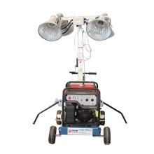 Equipo de iluminación exterior torre de luz portátil para la venta