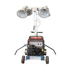 Outdoor light equipment portable light tower for sale