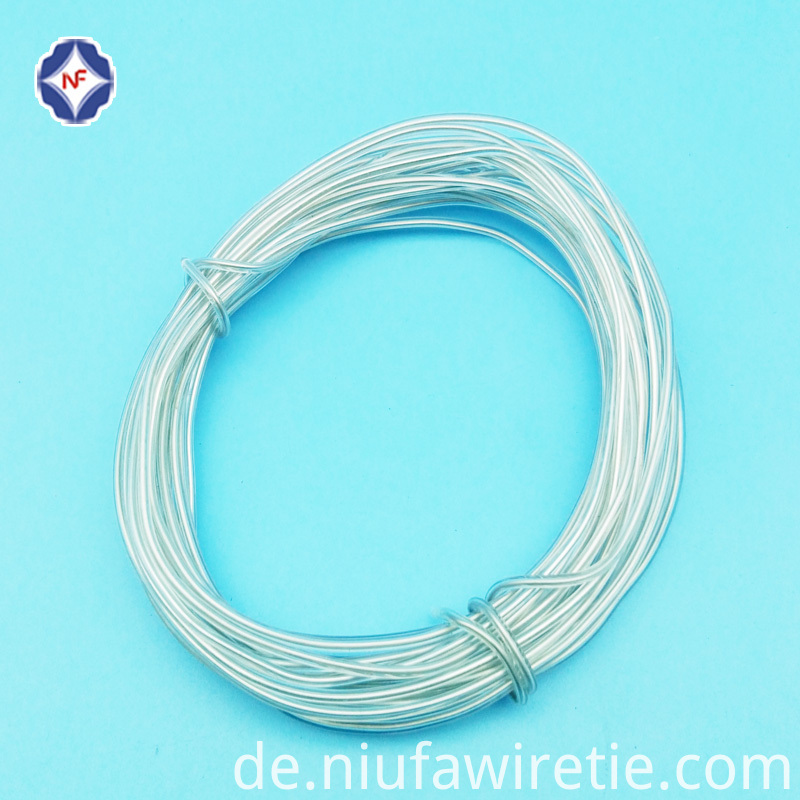 Single Wire Transparent Twist Tie