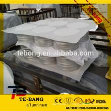 Cercle d'aluminium 1050 H14 Fabrication de tempérament pots de pizza / pots de cuisine