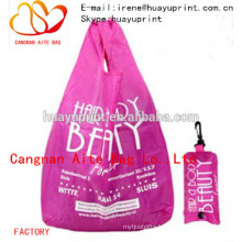 Nylon foldable bag & foldable shopping bag