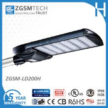Luz do parque de estacionamento do diodo emissor de luz de IP66 200W com o UL do CE aprovado