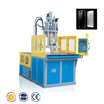 Telefonöverdrag Vertikal Rotary Injection Molding Machine