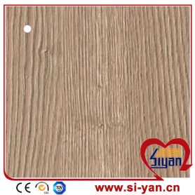 Mdf furniture wood grain pvc lamination film