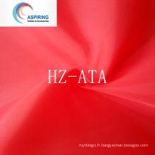 Tissu en tafet en polyester antistatique 190t