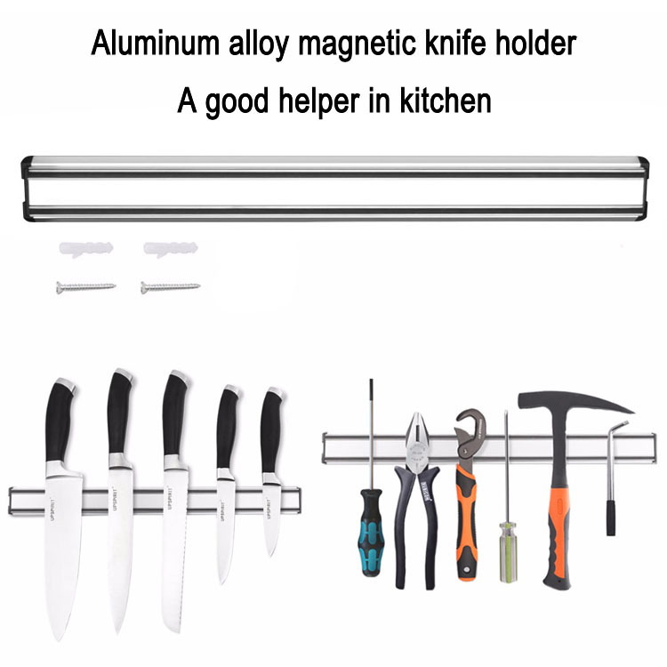 Magnetic knife bar