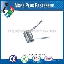 Made in TAIWAN ressort de torsion à ressort en acier inoxydable à haute qualité