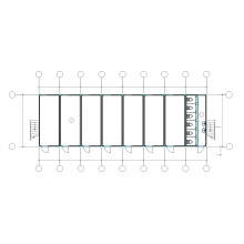 PTD4C237 Containerhaus für soziale Wohnungsbauprojekte