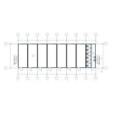 PTD4C237 Container house pour projets de logements sociaux