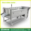 Tipo de desgaste Vegetal lavadora y peladora, lavado de cebolla y peladora Mstp-1000