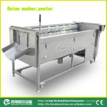 Type d'attrition Machine à laver et éplucher les légumes, Machine à laver et éplucher les oignons Mstp-1000