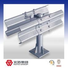Q235 Metal w Beam Guard Rails utilizado en carretera / de manera expresa