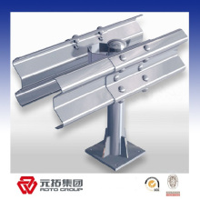 Hot galvanized double wave highway guard rail roll forming machine made in China