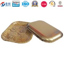 0,35 mm Dicke Zinn Serviertablett für Kittel machen