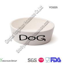 Cerámica Pet Bowl para la venta al por mayor