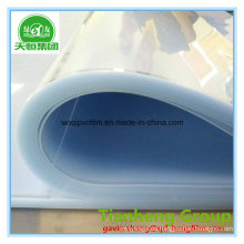 Película rígida de PVC de PVC transparente para cuello de camisa