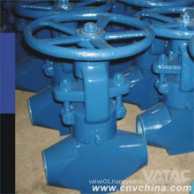 API&DIN&Bs Ductile Iron Ggg40 Non-Rising Stem Softed Sealing/Resilient Sealted Globe Valve