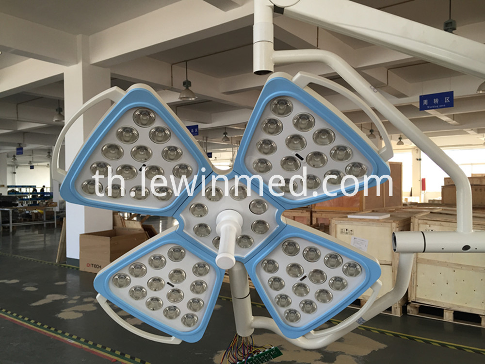 Surgical exam medical shadowless lamp